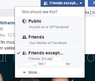 Friends except