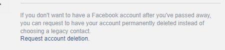 Deactivate account
