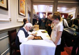 Roger Dean signing