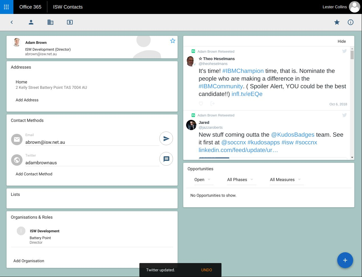 IBM Notes Application Running in Office 365 | The Domino Elf – Hogne
