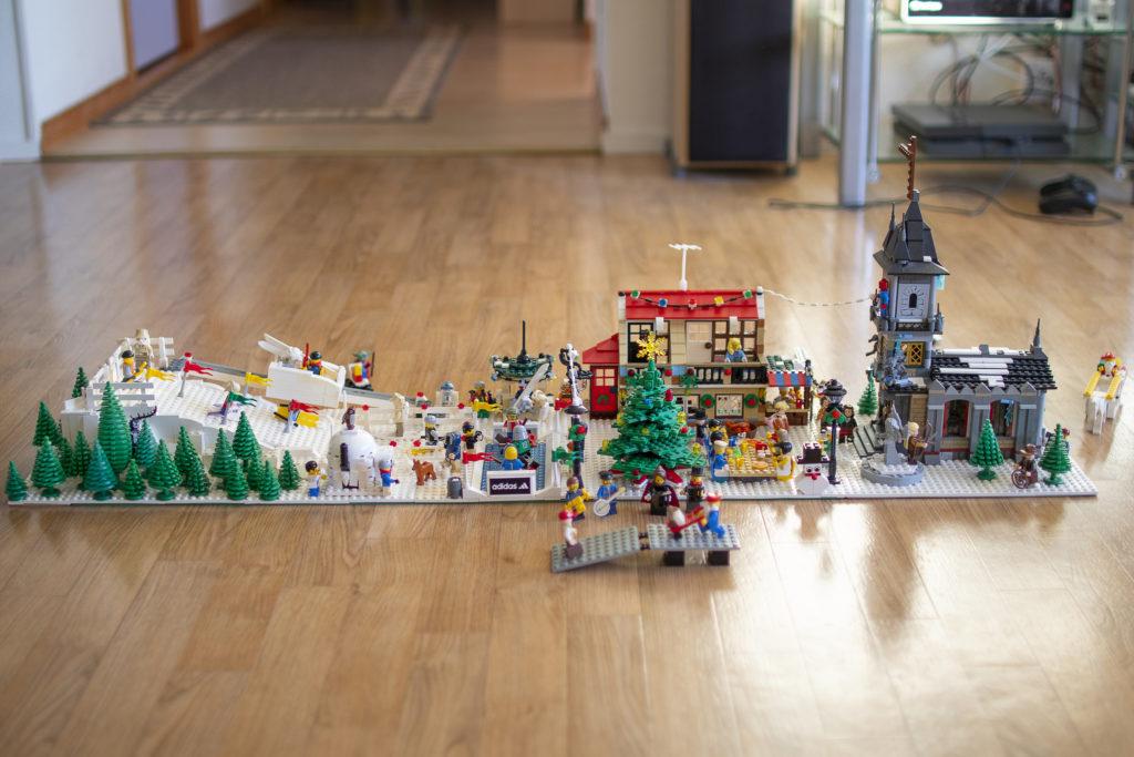 Lego Xmas exhbition