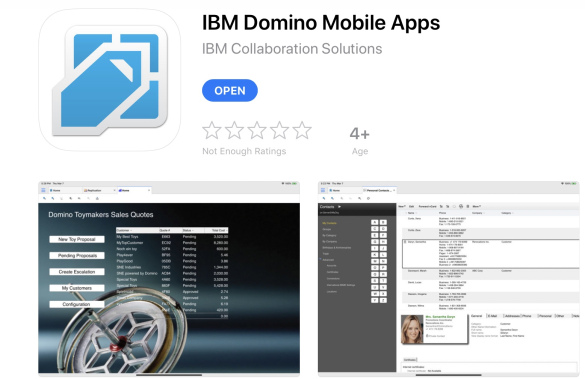 IBM Domino Mobile Apps