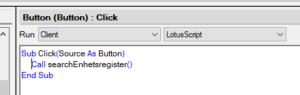 Run LotusScript