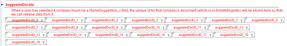 Suggested Doc IDS