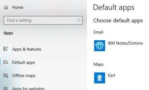 Default Mail Client
