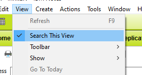 Search this view