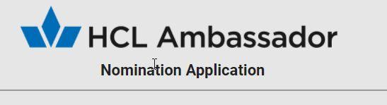 HCL Ambassador
