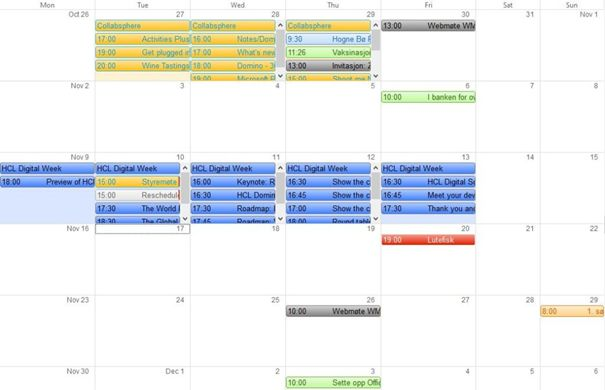 Notes Tip #42: Put Some Colour into Your Schedule